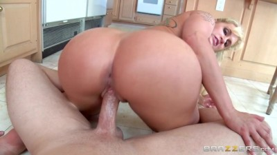 Horny Big Booty Stepmom Takes Lucky Young Cock PAWG - mobile porn