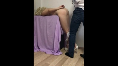 Barbie Doll Handcuffed before Anal Destruction